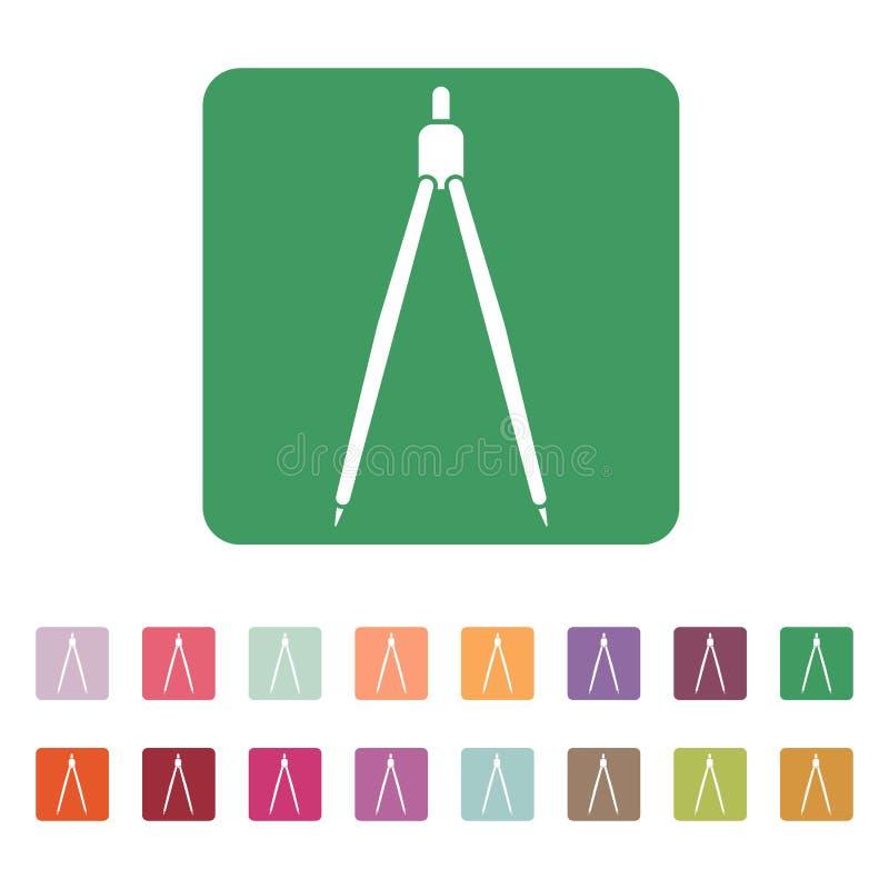 L'icône de diviseur illustration de vecteur