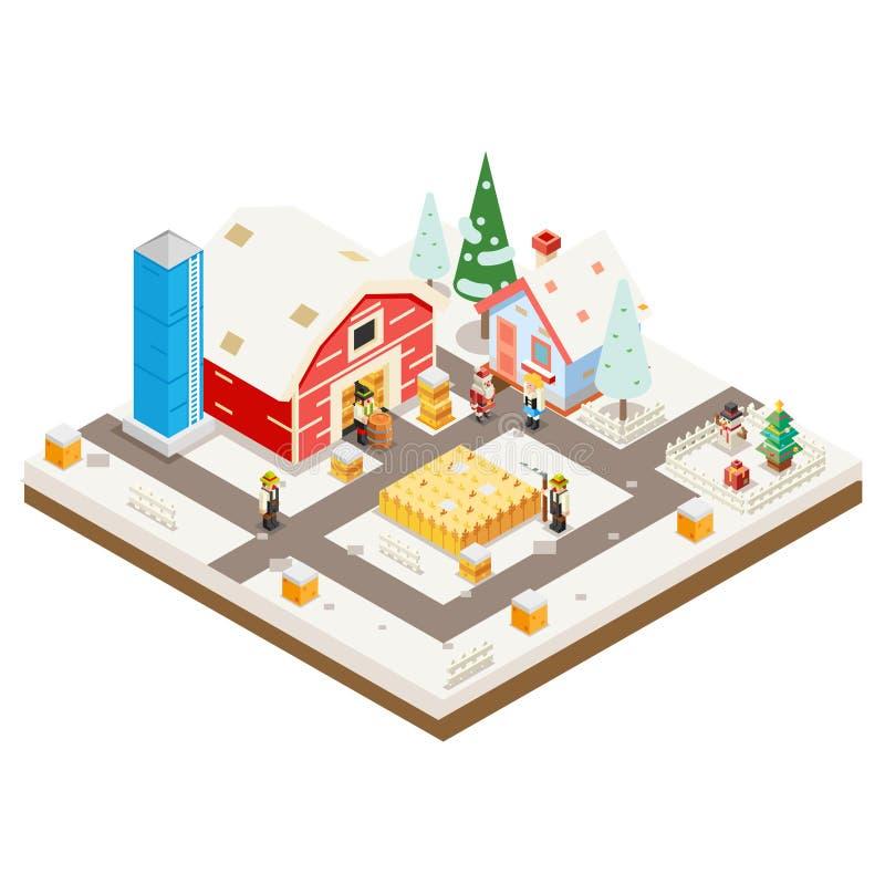 L\'icône Isométrique Real Estate De Construction De Logements De ...