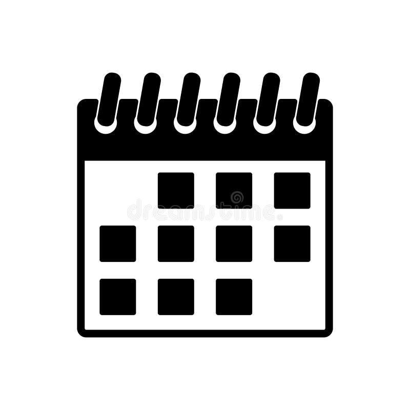 Simbolo De Calendario.L Icona Del Calendario Simbolo Di Gennaio Piano