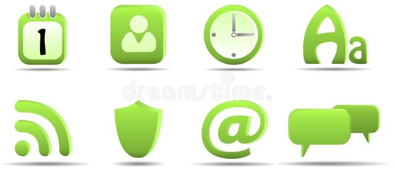 L'icona di Web ha impostato 6 | Serie dell'erba