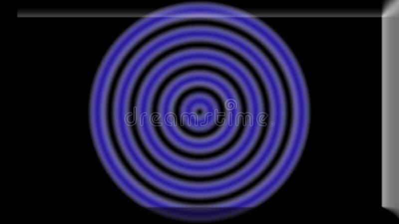 l'illustration 3d d'un fond d'image d'abrégé sur couleur primaire entoure illustration stock