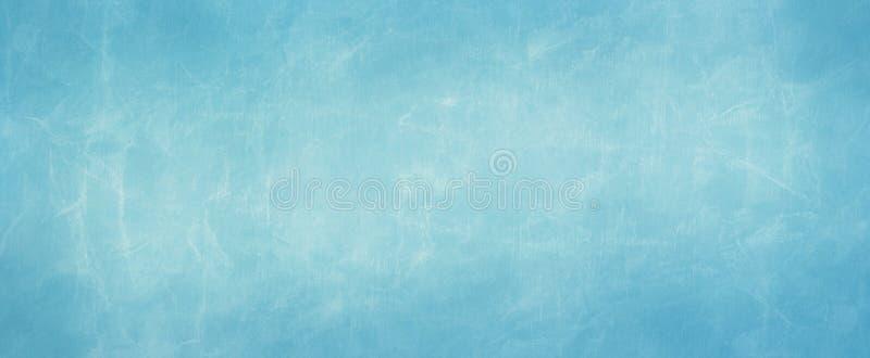L'illustration de papier bleue de fond de parchemin avec la conception grunge usée froissée de texture, a vieilli le fond affligé image libre de droits