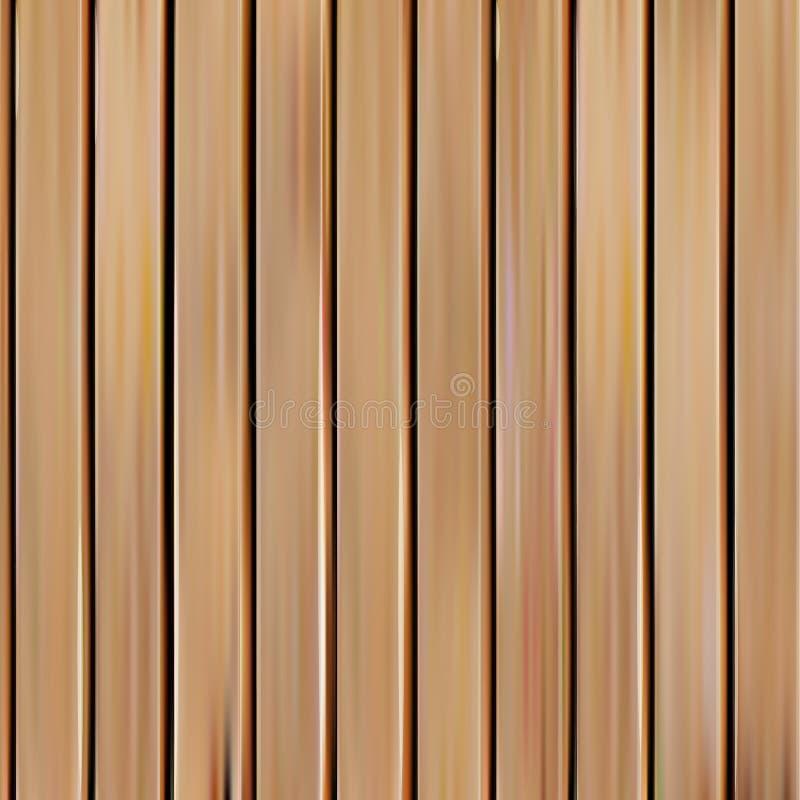 l'illustration en bois sans couture réaliste de vecteur de texture, verticale embarque le fond illustration stock