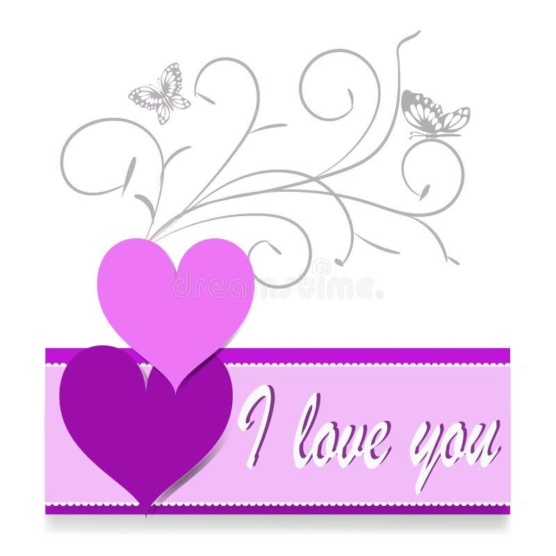l'illustration s de coeur de vert de dreamstime de conception de jour de carte stylized le vecteur de valentine Lettrage heureux  photos stock