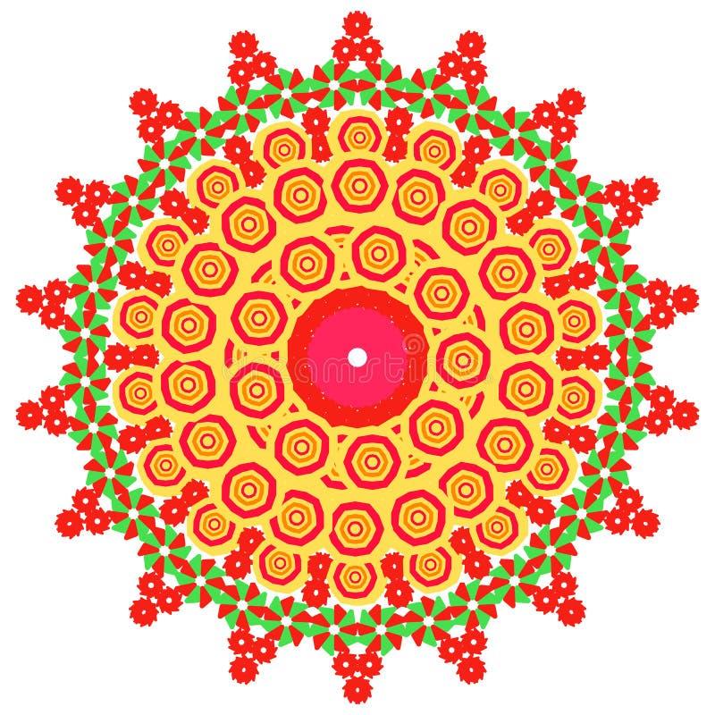 L'image d'abrégé sur vecteur d'une fleur illustration libre de droits