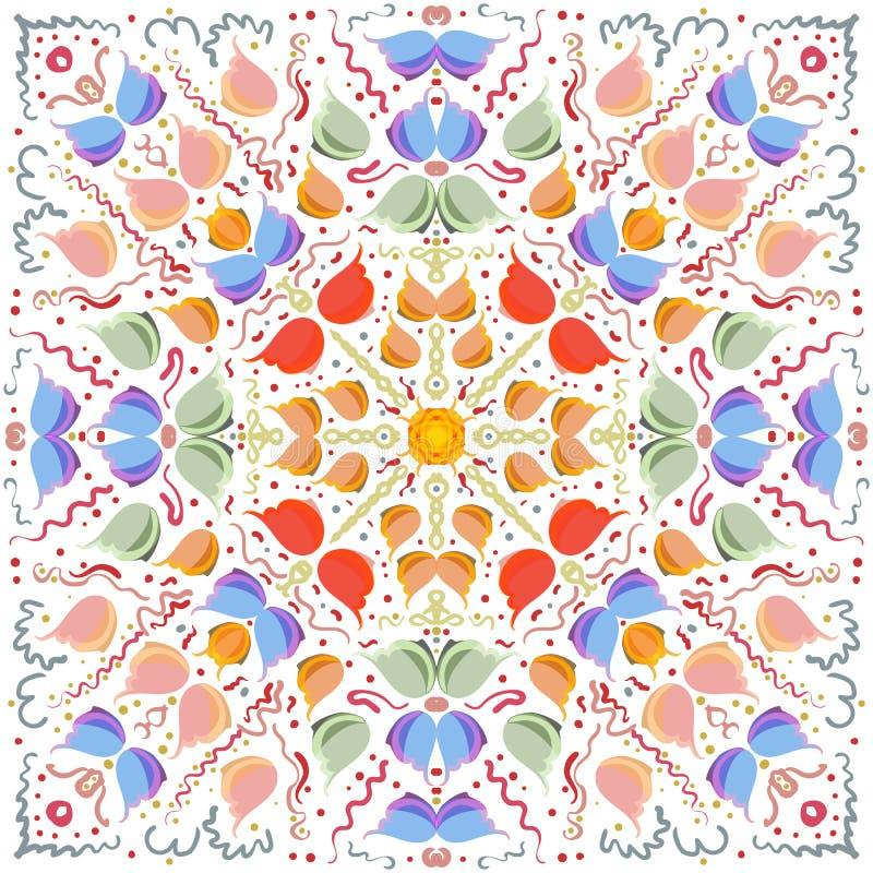 L'image d'abrégé sur vecteur d'une fleur illustration de vecteur