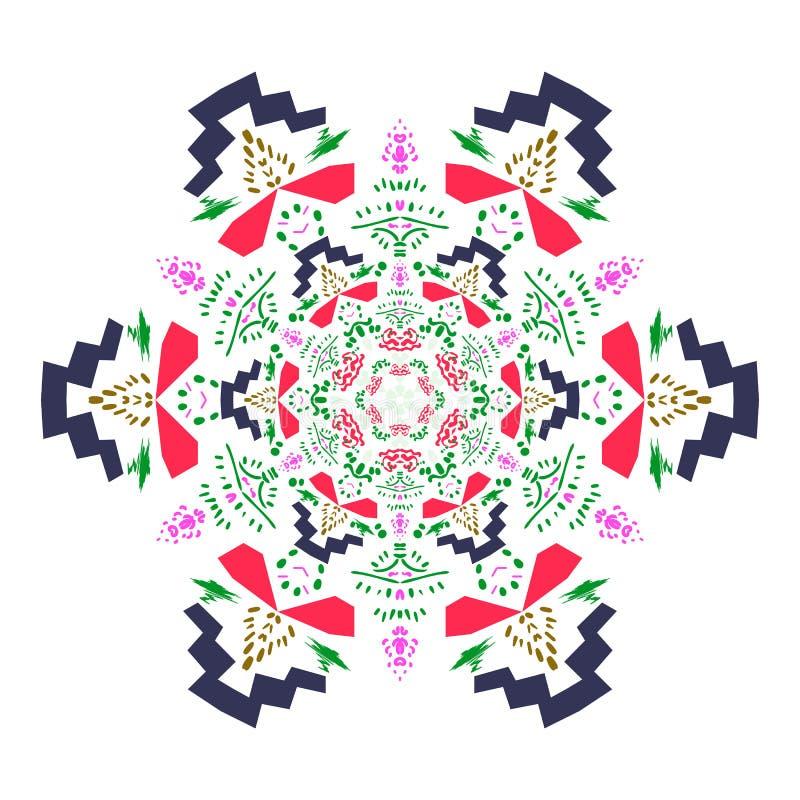 L'image d'abrégé sur vecteur du mandala illustration stock