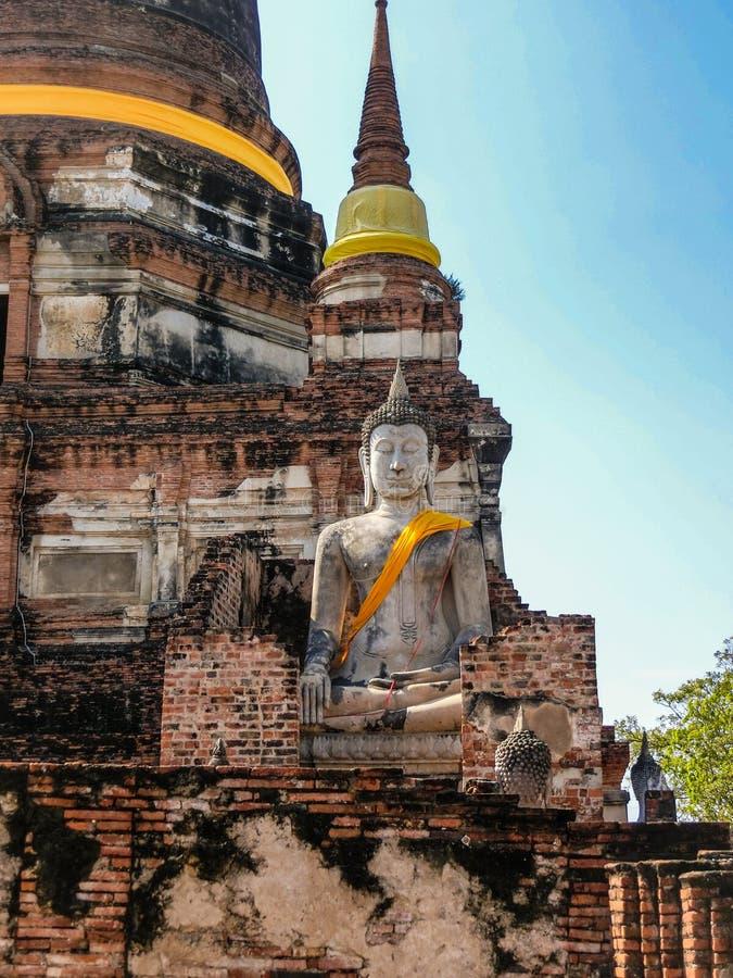 L'image et la pagoda énormes de Buda images stock