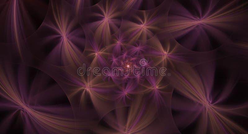 L'image générée par ordinateur de fractale abstraite, peut être employée pour le dos photos stock
