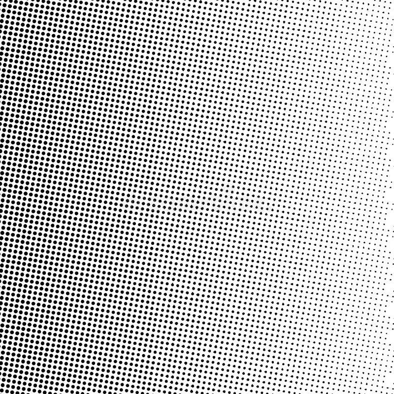 L'image tramée pointille le gradient dans le format de vecteur élégant illustration de vecteur