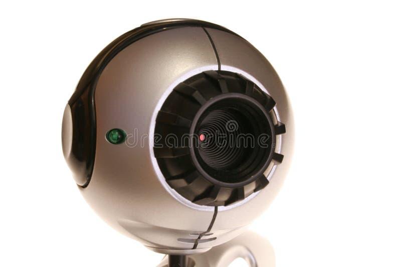 L'immagine del webcam fotografie stock