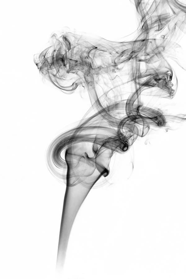 L'immagine di fumo fotografie stock libere da diritti