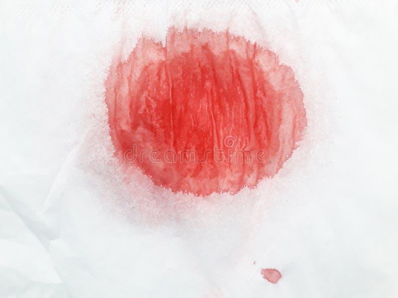 l'immagine di sfondo dell'acquerello con un liquido schizza della pittura dell'acquerello, isolato su bianco fotografia stock libera da diritti