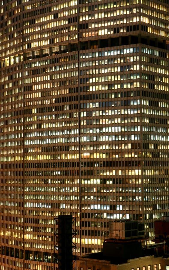 L'immeuble de bureaux élevés de New York City photos libres de droits