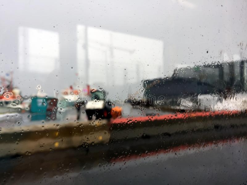 L'impressionisme d'un jour pluvieux photos libres de droits