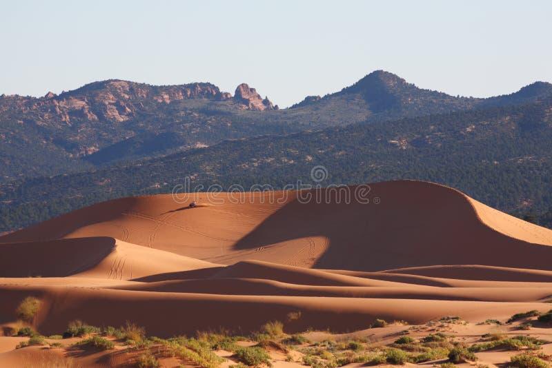 L'incandescenza della sabbia immagini stock
