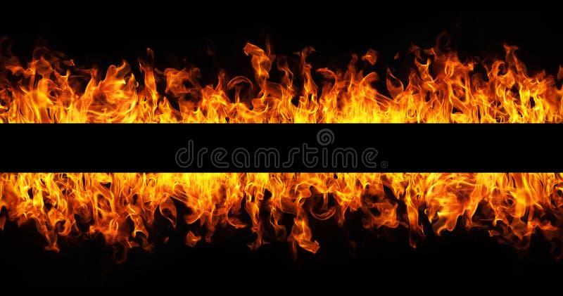 L'incendie flambe la trame image stock