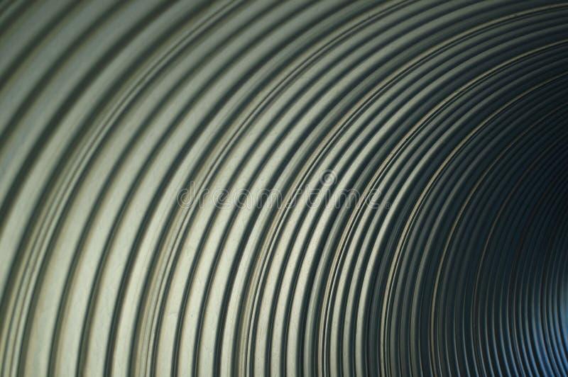 L'inconnu dans l'abstraction abstraite de minimalisme et d'abstraction rayent des lignes tube d'arc de minimalisme photographie stock