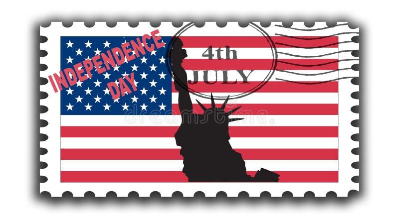l'indépendance de jour illustration libre de droits