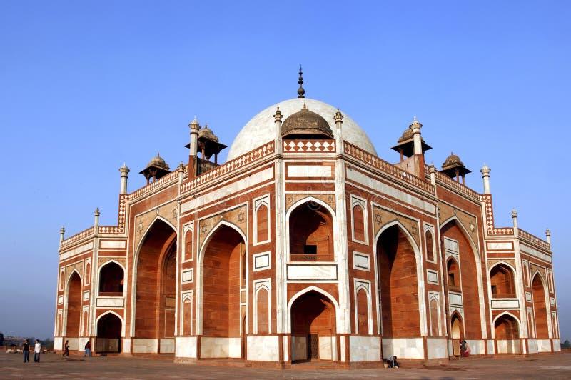 l'Inde, Delhi : Tombeau de Humayun photo stock