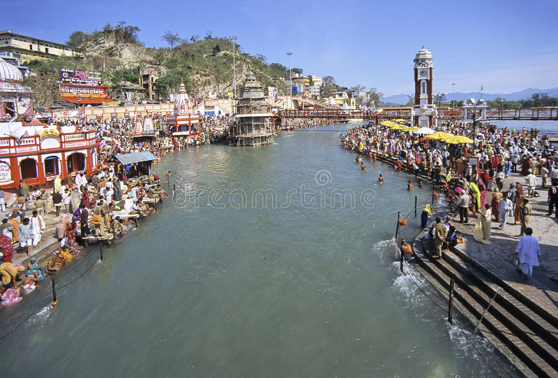 l'Inde Kumbh Mela photos stock