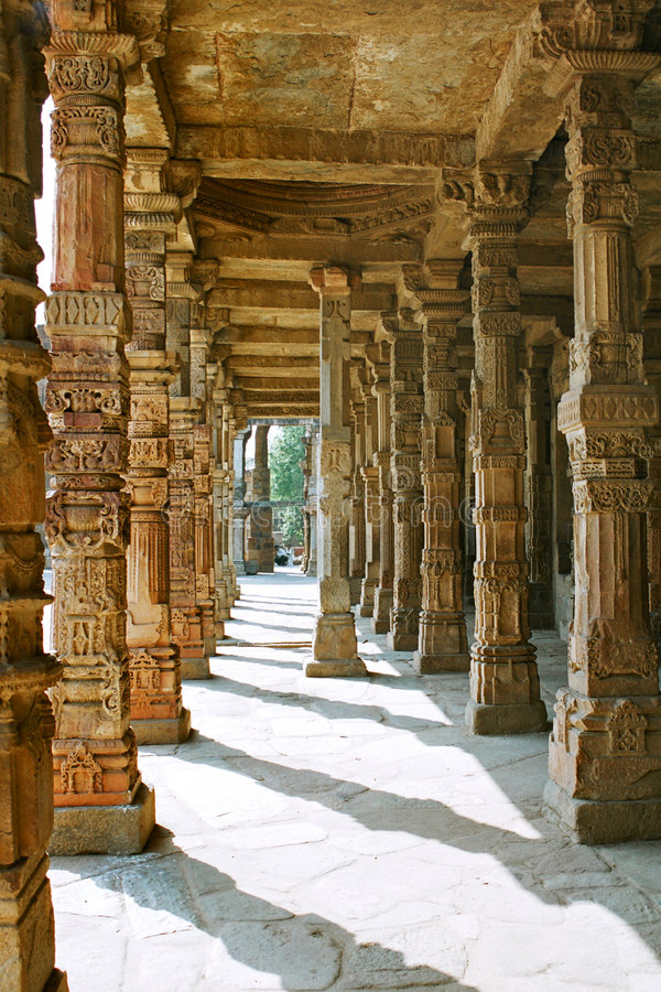 l'Inde, la rampe. photographie stock