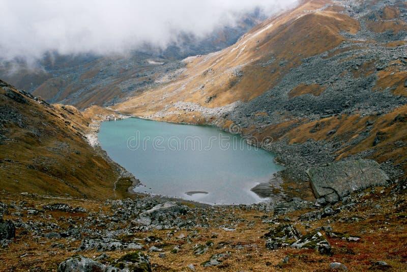 l'Inde, lac Vasuki Tal. image stock