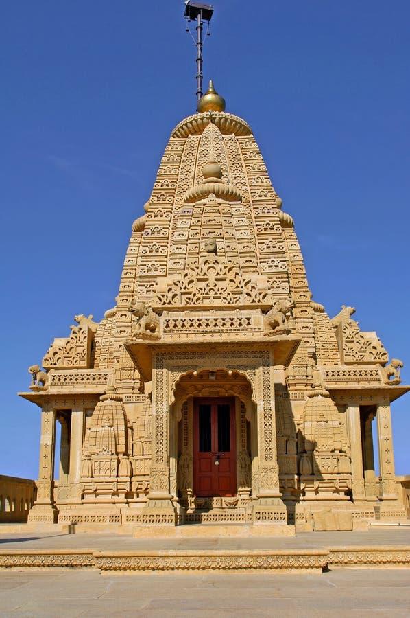 l'Inde, Ràjasthàn, Jaisalmer : Temple Jain photos stock