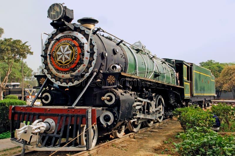 l'Inde : un de la locomotive courante la plus ancienne photos libres de droits