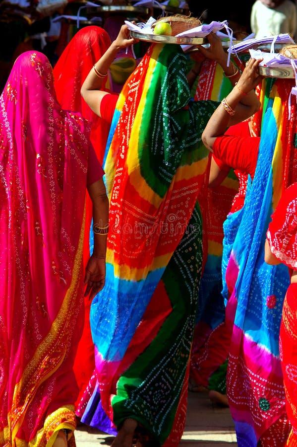 L'India, Chittorgarh: Cerimonia Jain immagini stock libere da diritti