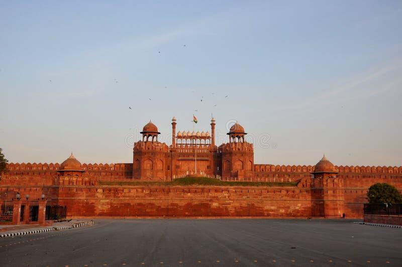 L'India forte rossa fotografia stock libera da diritti