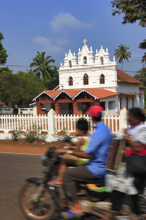 L'India - Goa - Candolim fotografia stock