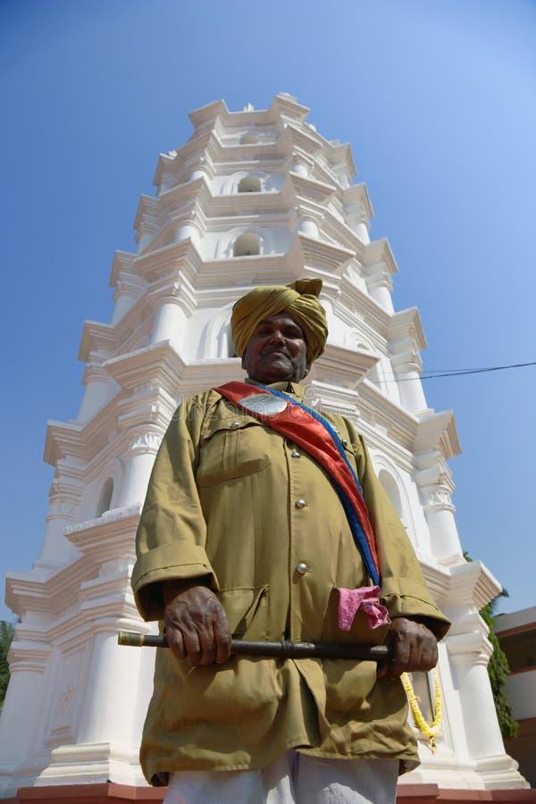 L'India - Goa - Ponda fotografia stock libera da diritti