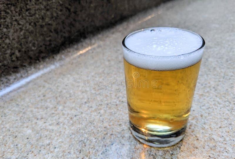 L'India Pale Ale Craft Beer Tasting Sample fotografia stock libera da diritti