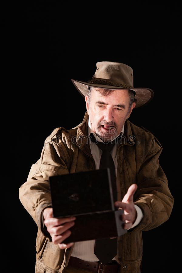 L'Indiana Jones fotografia stock