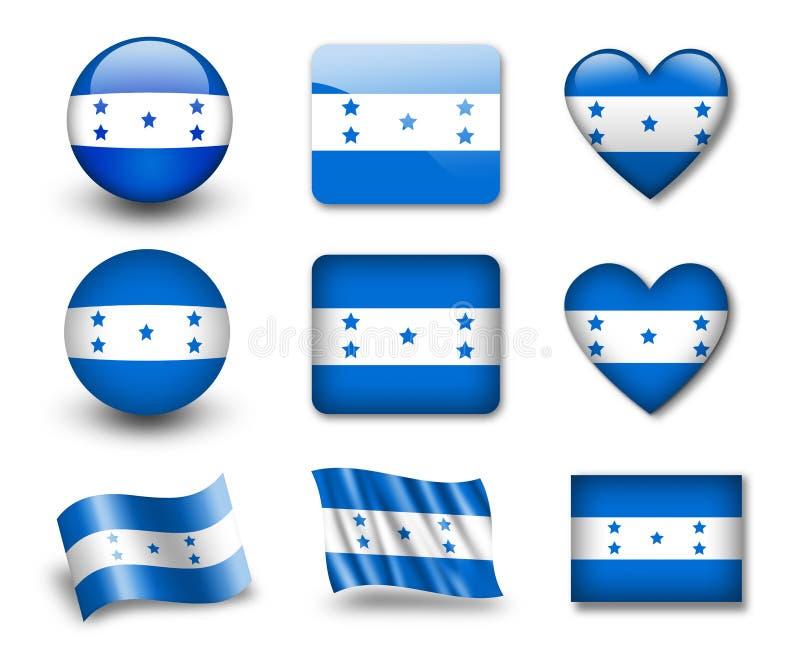 L'indicateur hondurien illustration libre de droits