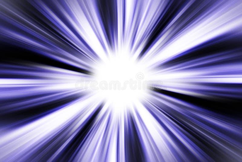 L'indicatore luminoso all'estremità fotografia stock libera da diritti