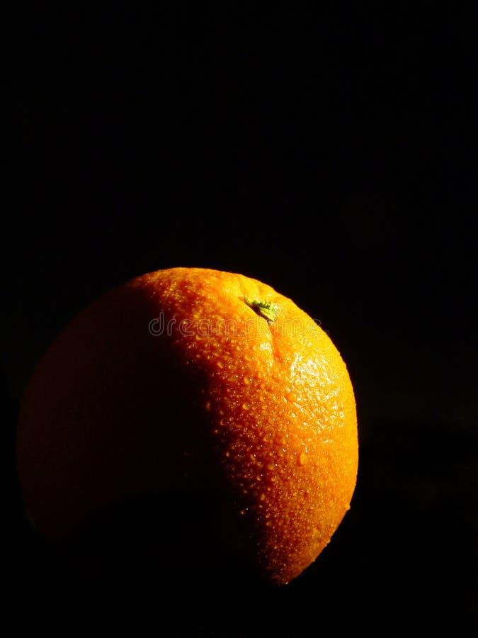 L'indicatore luminoso arancione fotografie stock