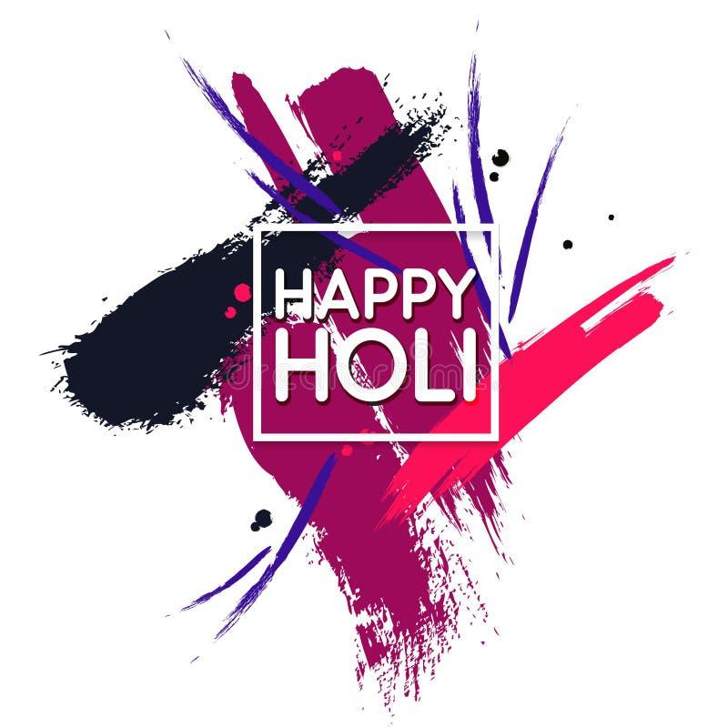L'Indien de vecteur colore le festival Conception abstraite de décoration pour la bannière, la copie, l'affiche et la carte Calli illustration libre de droits