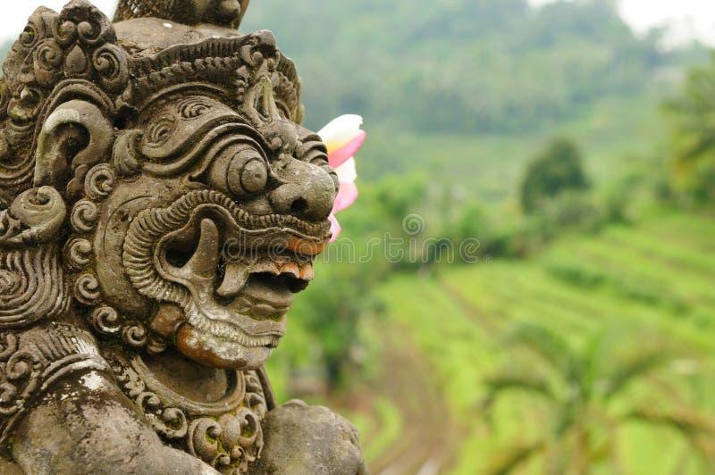 l'Indonésie, Bali, architecture images libres de droits