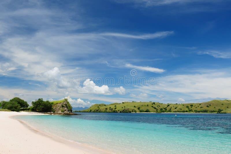 l'Indonésie, Flores, stationnement national de Komodo photographie stock