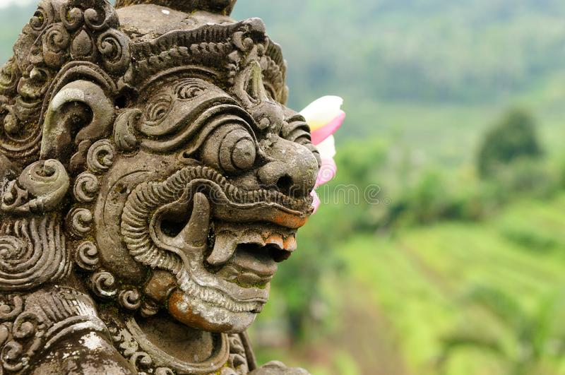 l'Indon?sie, Bali, architecture images stock