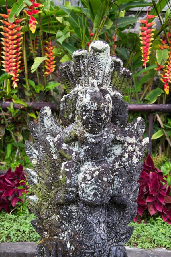 L'Indonesia, Bali, Tirtagangga, palazzo dell'acqua fotografie stock libere da diritti