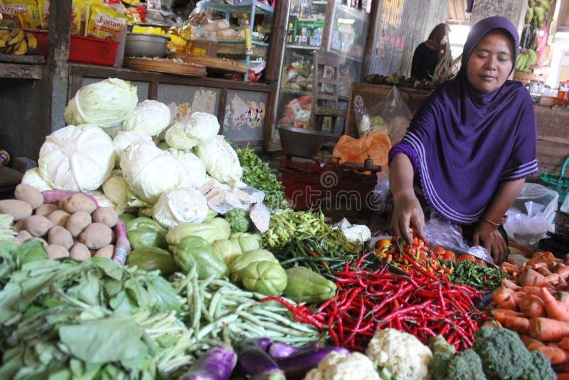 L'Indonesia di verdure immagine stock