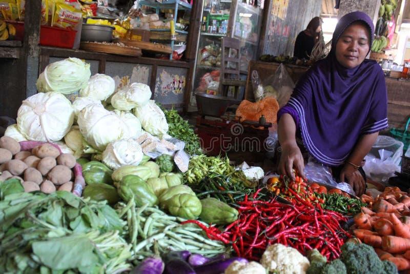 L'Indonesia di verdure fotografia stock