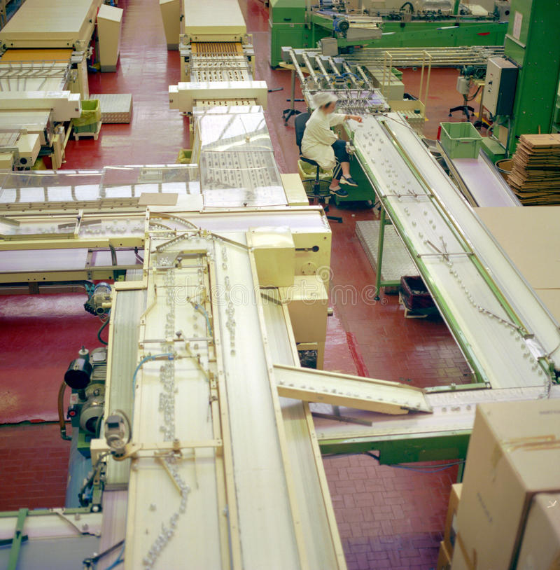 L'industrie alimentaire images stock