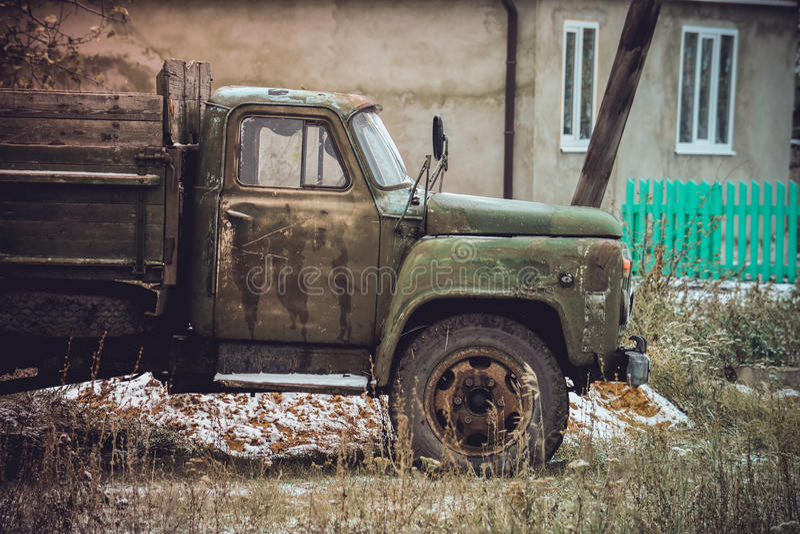 L'industrie automobile russe ZIL image stock