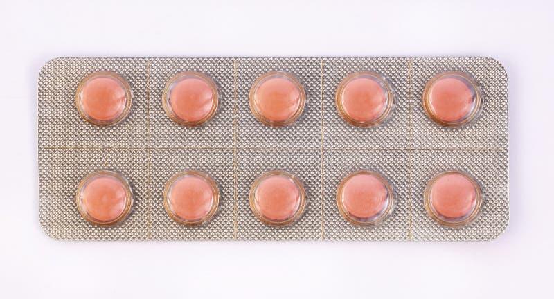 L'industrie pharmaceutique dope des vitamines de pilules images stock