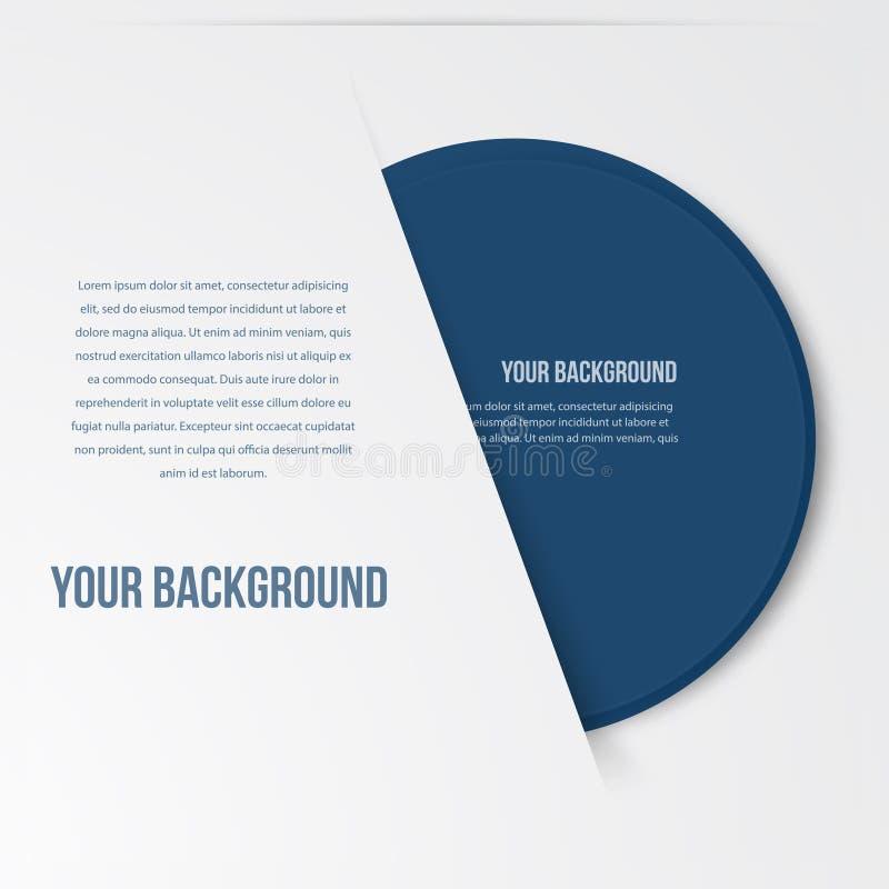 L'infographics de vecteur entoure le calibre Conception illustration libre de droits