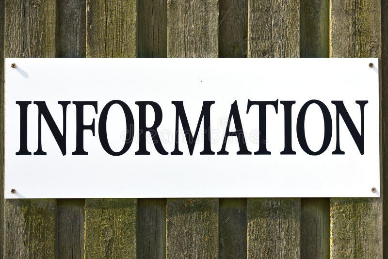 L'information photo stock
